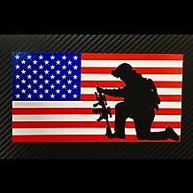 custom american flag decal