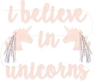 xo, Fetti Unicorn Decorations Banner - pre strung   Unicorn Party Supplies, Unicorn Horn Birthday Decoration