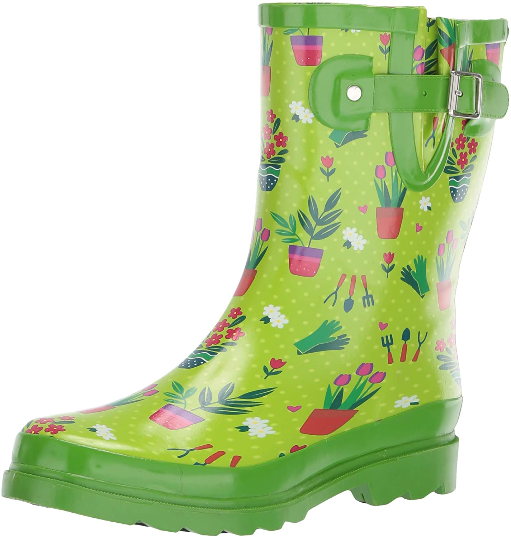 Western Chief Women's Mid-Height Waterproof Rain Boots