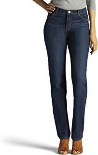 Women's Tall Instantly Slims Classic Relaxed Fit Monroe Straight Leg Jean