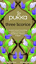 Pukka Herbs Three Licorice Tea Bags,30.0 Grams,20.0 Pieces