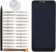 Goodyitou Display Touch Digitizer Screen Without Bezel Frame for Huawei Y6 2018 ATU-LX3 ATU-L11 ATU-L21 ATU-L22(Black)