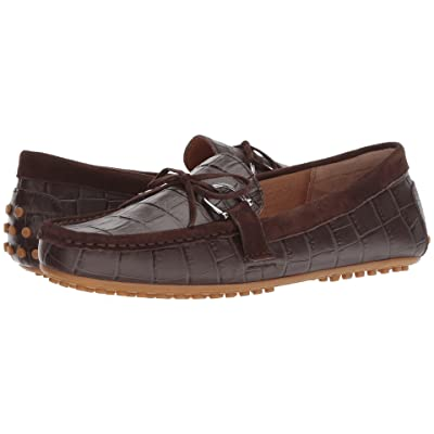 LAUREN Ralph Lauren Briley Moccasin Loafer (Dark Brown/Dark Brown Soft Croc/Suede) Women