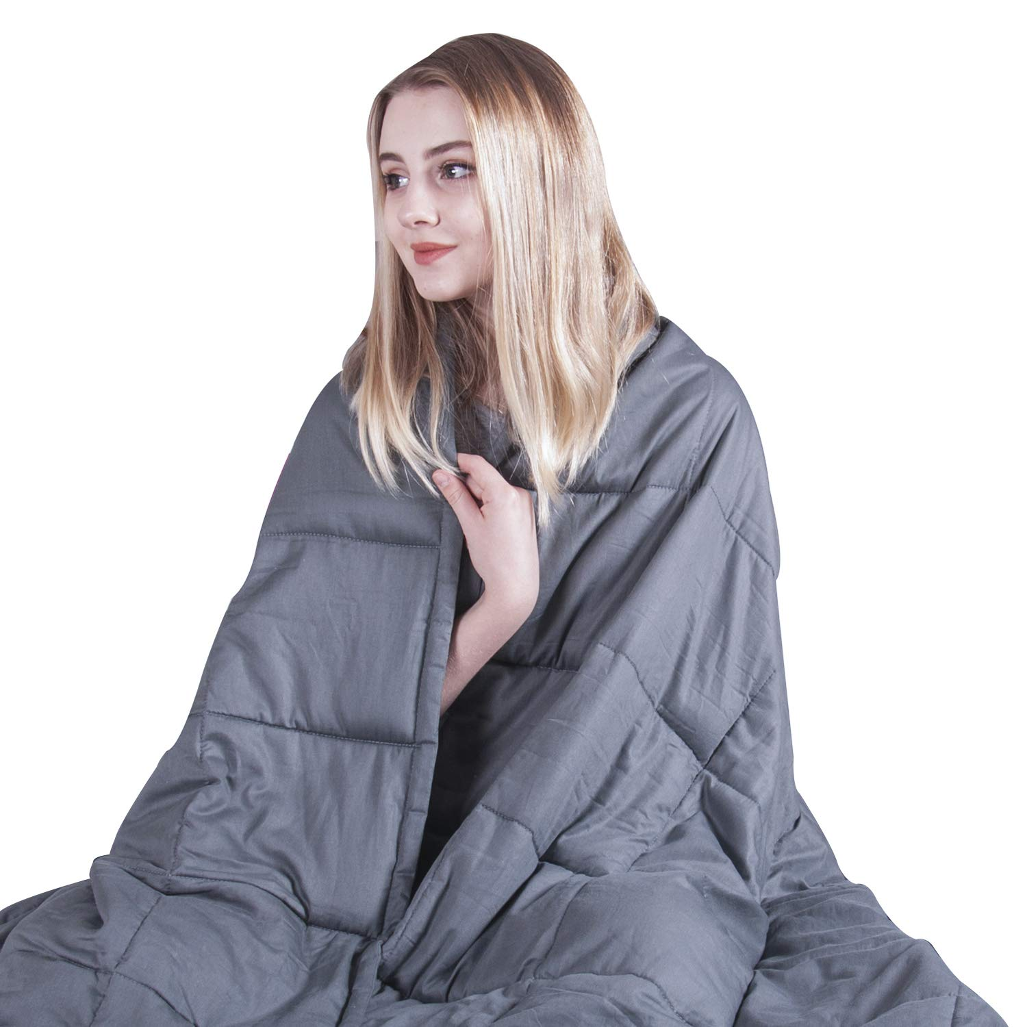 COMHO Weighted Blanket Adults Cooling