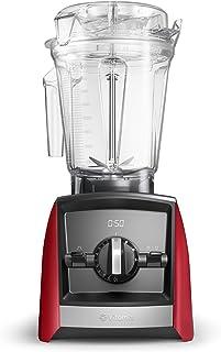Vitamix VTX A2500 RD Ascent Series A2500i beredare, 100 % tritanplast (BPA-fri), 2 liter, röd