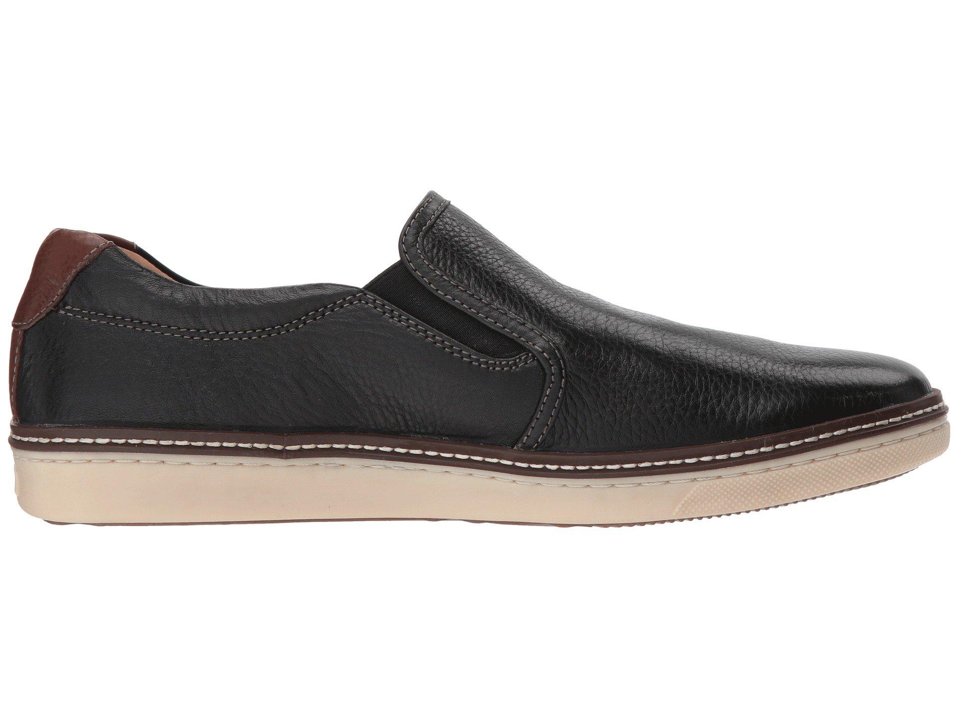 Casual amp; Full Grain on Sneaker 2 Mcguffey Murphy Black Slip Johnston wt7fdf