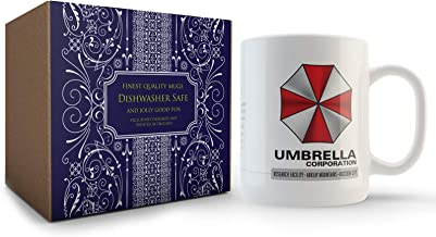 Resident Evil Umbrella Corporation Targa di immatricolazione in alluminio Replica Resil Evil Umbrella Corporation 300 mm x 150 mm