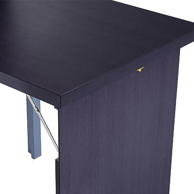 Amazon.com: Furinno 15111EXBKBR Jaya Computer Study Desk