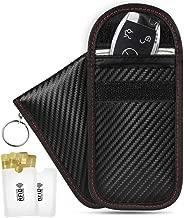 Upgraded 4 Pack Faraday Key Fob Protector, Niceline Premium Faraday Bag Key Fob, Faraday Cage Car Key Protector, RFID Signal Blocking, Anti-Theft RFID Key Fob Protector with RFID Blocking Sleeves