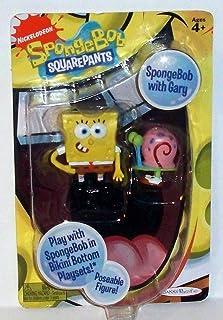 Spongebob Squarepants Poseable Character Figure with Gary