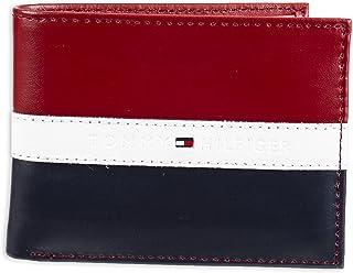 Tommy Hilfiger Men's Leather Americana Stripe Bifold Wallet