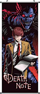 CoolChange Poster para enrollar /Kakemono de Death Note Hecho de paño, 100x40cm, Tema: Ryuk & Light Yagami
