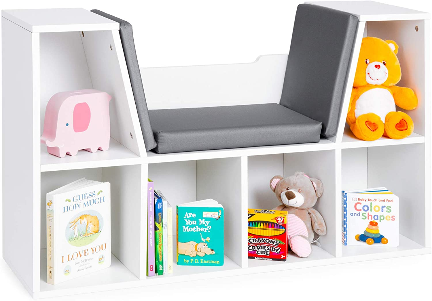 Best Choice Products Indianapolis Mall 6-Cubby Direct store Kids Storage Bedroom Organizer Mul