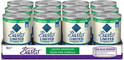 Blue Buffalo Basics Limited Ingredient Diet, Grain Free Natural Adult Wet Dog Food | Amazon