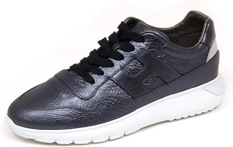 Hogan F6966 Sneaker Donna Blu Metal H371 Interactive 3 Scarpe Shoe ...