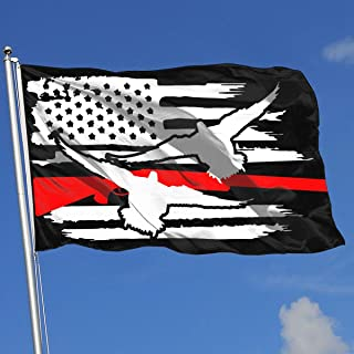 American Flag Duck Drake Hunting Decoy Tea Flag 3x5-Flags 90x150CM-Banner 3'x5' FT