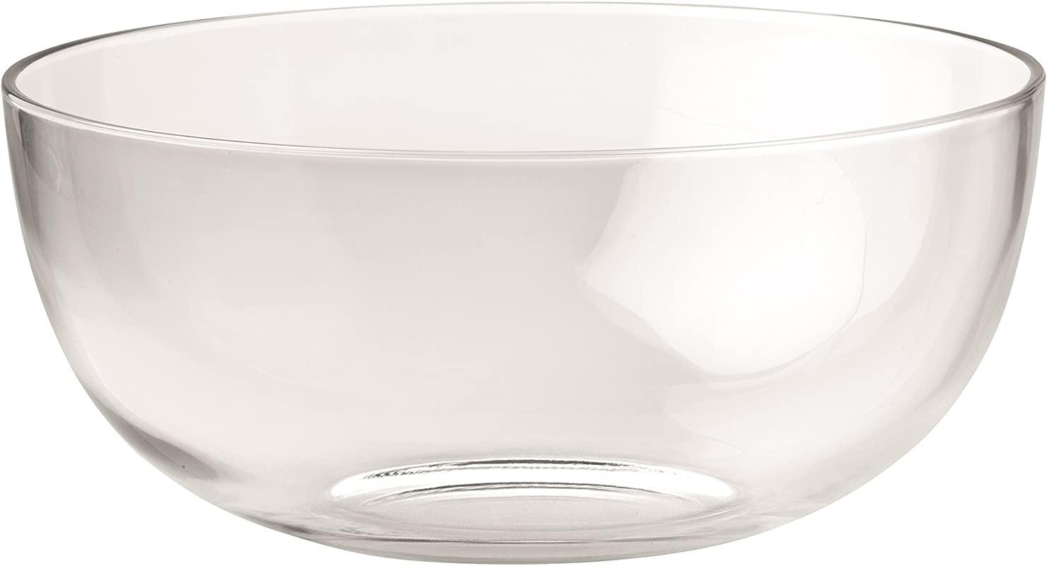 Barski European Glass Large Serving Bowl Salad Bowl Mixing Bowl 11 75 D 220 Oz Made In Europe