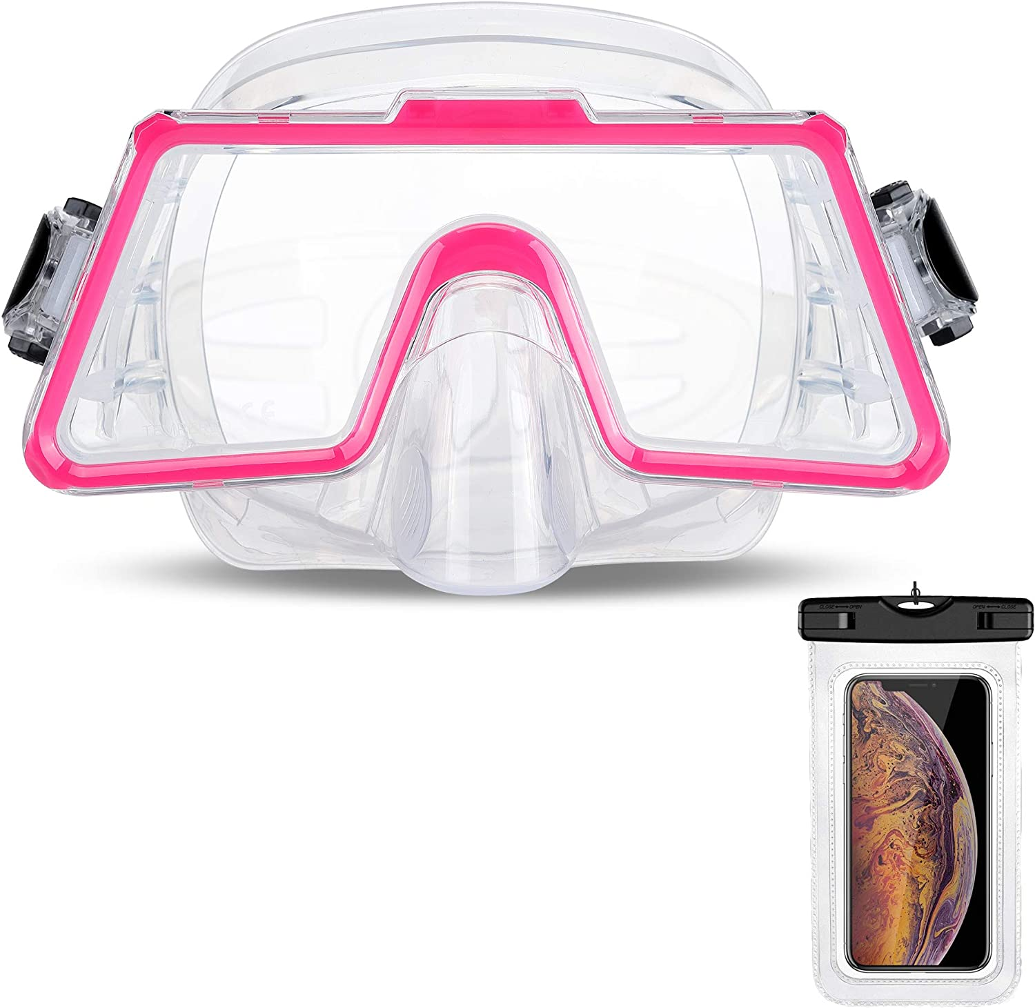 OMYAFL Snorkel Surprise price Diving Mask 180° View Direct store Adjus Panoramic and Easy