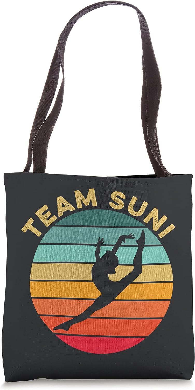 Sunisa Lee Team Suni Gymnastics Gymnast Champion Gold Medal Tote Bag