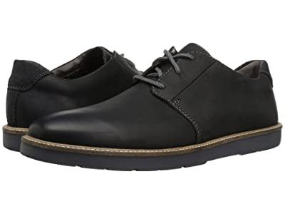 Clarks Grandin Plain (Black Leather) Men