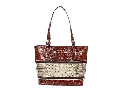 Brahmin Carlsen Medium Misha Tote (Savino) Handbags