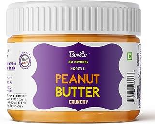 Borito All Natural Honey Crunchy Peanut Butter 340gm