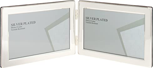 Viceni Landscape Hinged Double Photo Frame, 5 by 7-Inch