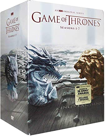 Complete Game of Thrones Seasons 1-7 (DVD, 34-Disc Set)