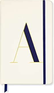 Kate Spade New York Take Note Large Leatherette Initial Notebook, 8.25