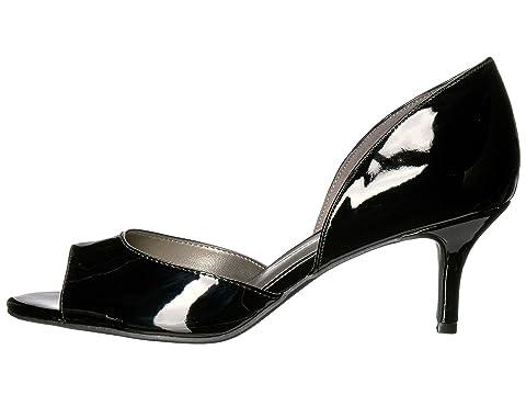 Bandolino Black Nubilla Patent Material Super Glamour Soft SyntheticGold Glamour 1PZr15Snq
