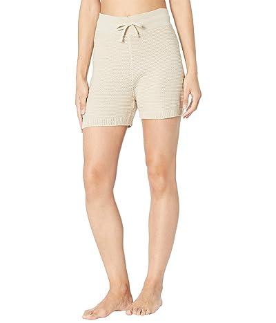 Onzie Cozy Knit Shorts (Cuban Sand) Women