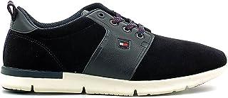 Tommy Hilfiger Fm56822130 Zapatos de cordones Hombre Azul, Talla 41