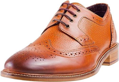 London Brogues Hamilton Herren Schuhe Beige