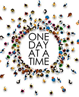 One Day at a Time - 18 Month Planner: Power of the Group in Fellowship Recovery Oriented Daily Weekly and Monthly Views wi...