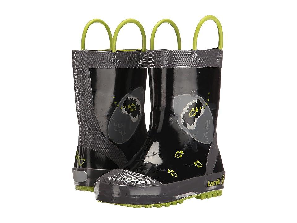 Kamik Kids Chomp (Toddler) (Black) Boys Shoes