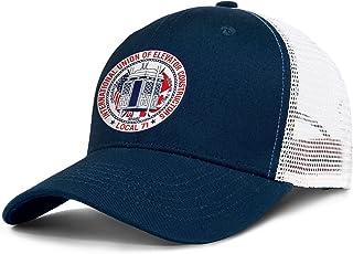 WYLIN IUEC-Logo71 Men Women Novelty Mesh Baseball Hat Snapback Sports Cap Adjustable