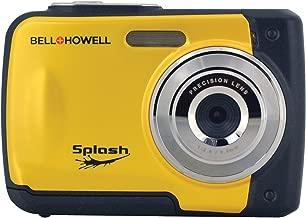 Bell+Howell Splash WP10-Y 16.0 Megapixel Waterproof Digital Camera with 2.4-Inch LCD & HD Video (Yellow)