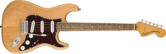 Squier by Fender Classic Vibe 70's Stratocaster Electric Guitar - Laurel Fingerboard - Natural