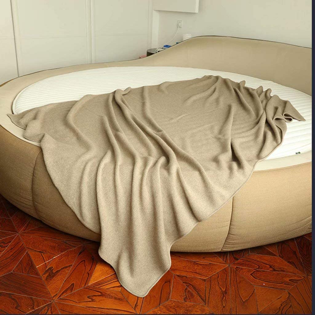 fscz Blanket Plush Knit Warm Napping Max 56% OFF Blank Large special price Thicken Winter