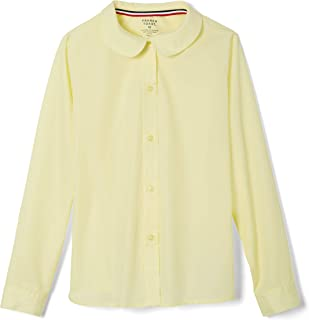 Girls' Long Sleeve Peter Pan Collar Blouse