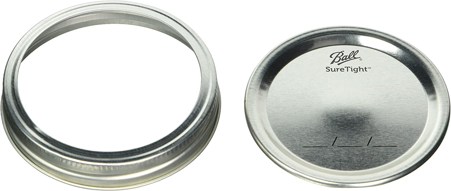 2pack of 12 Max 52% OFF Ball Wide Columbus Mall and Bands Mouth Lids