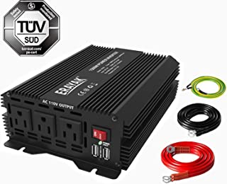 ERAYAK 800W Power Inverter DC 12V to 110V AC Converter with Dual USB Ports for Car Truck