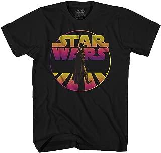 Star Wars Darth Vader Walk Classic Retro Vintage Adult Men's Graphic Tee Apparel T-Shirt