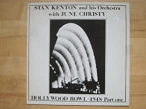 Stan Kenton and His Orchestra with June Christy, Hollywood Bowl 1948 Part One. Vinyl LP