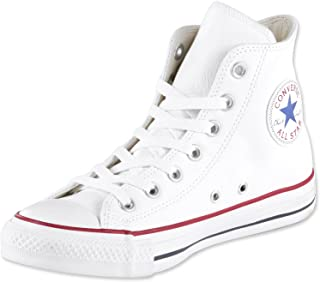 Converse All Star Hi Leather Sneakers Nero Monocromatico