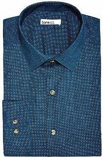 Mens Stretch Easy Care Button Up Dress Shirt