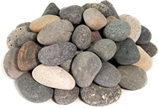 Painting Pebbles | 10 Pound Refill | Natural, Hand-Picked, Smooth Rocks for Painting and Drawing | Arts and Crafts Stones (Mixed, 2