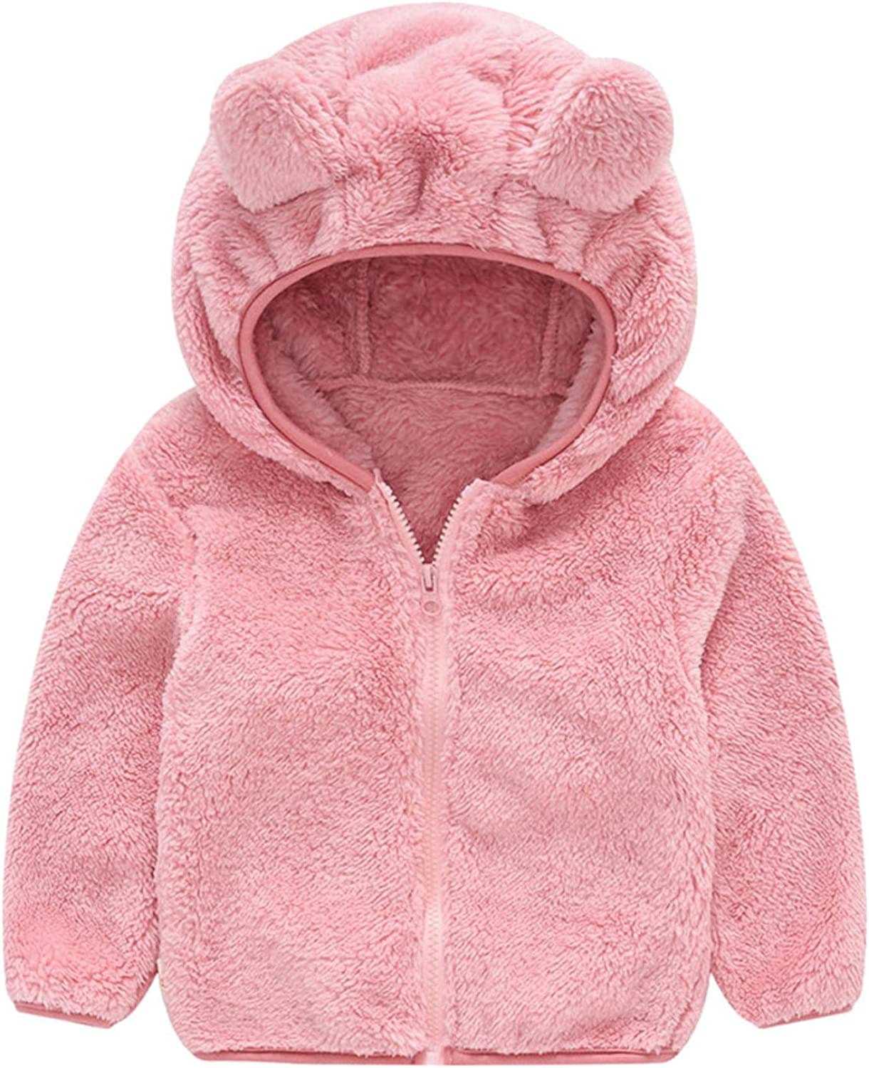 Toddler Outlet sale feature Hooded Jacket Limited time sale Girl Boy Winter Top Warm Sweatshirt Outwea