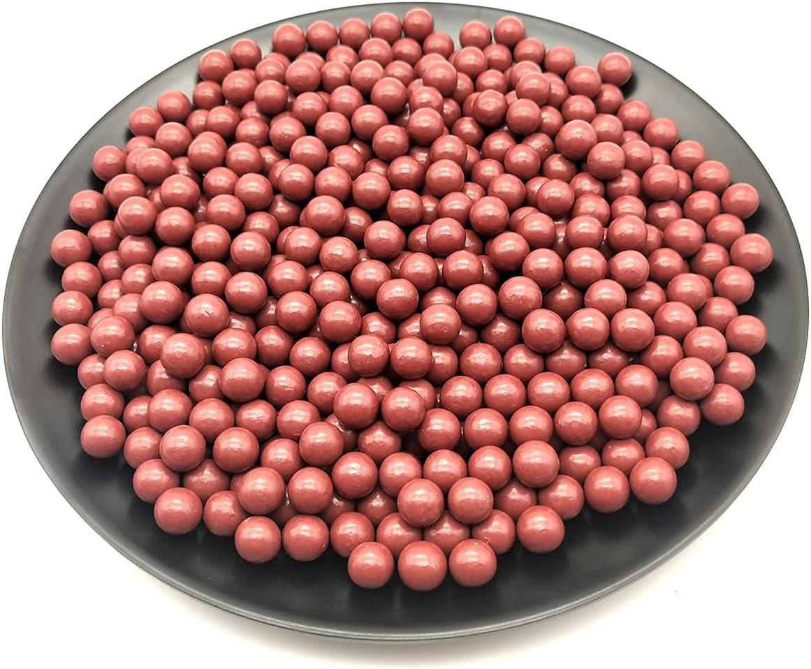QINGZHENG 1000pcs Slingshot Ammo Ball,Biodegradable Red Clay Bal