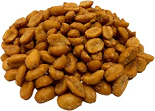 NUTS U.S. – Peanuts  Honey Roasted and Salted   Shelled and Blanched  Fresh and Ready To Enjoy   All Natural Honey Roasted Peanuts!!! (2 LBS)